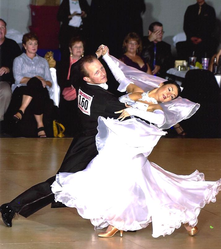 Swing and Ballroom Dance Teacher Photo. Indianapolis Indiana club